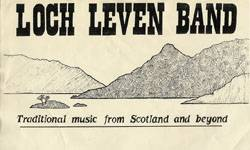 Title for Loch Leven Band posters